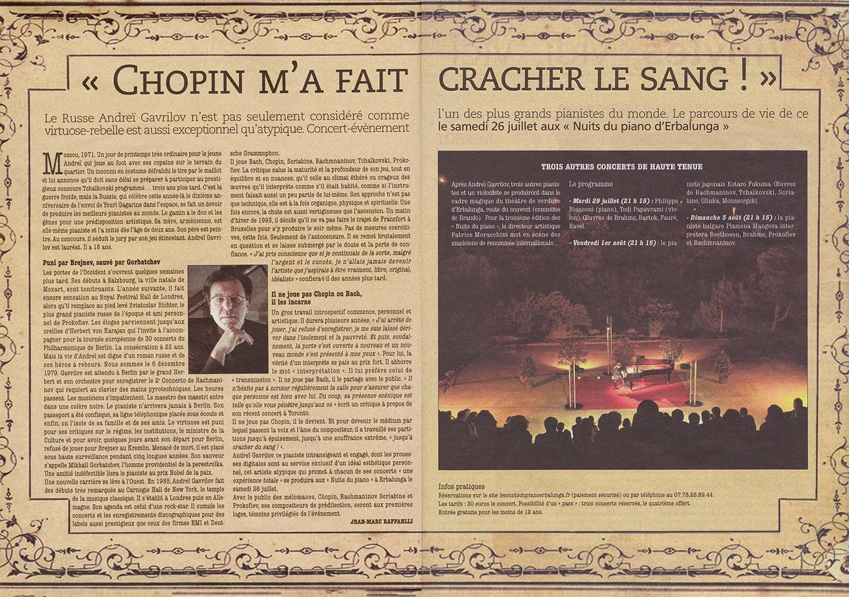 Corse-Matin le Magazine juin 2014